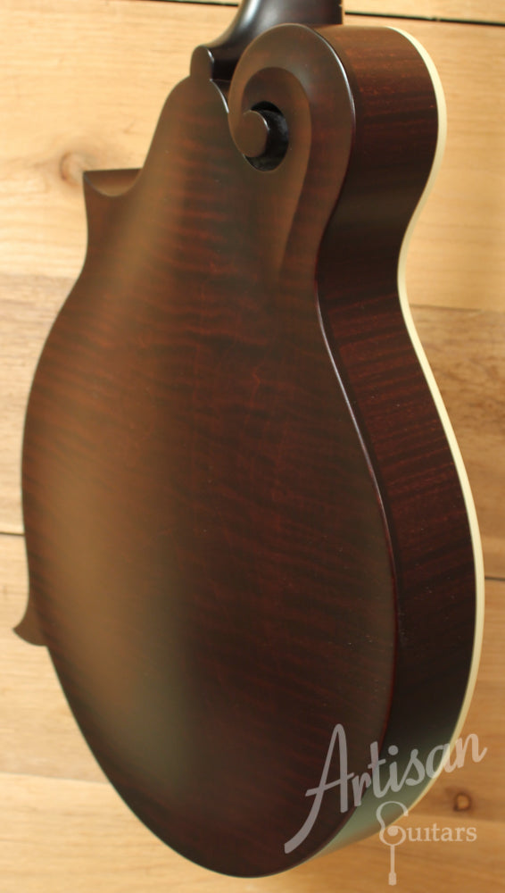 Collings MF Full Sheraton Brown Gloss Top Mandolin with Ivoroid Binding ID-8951 - Artisan Guitars