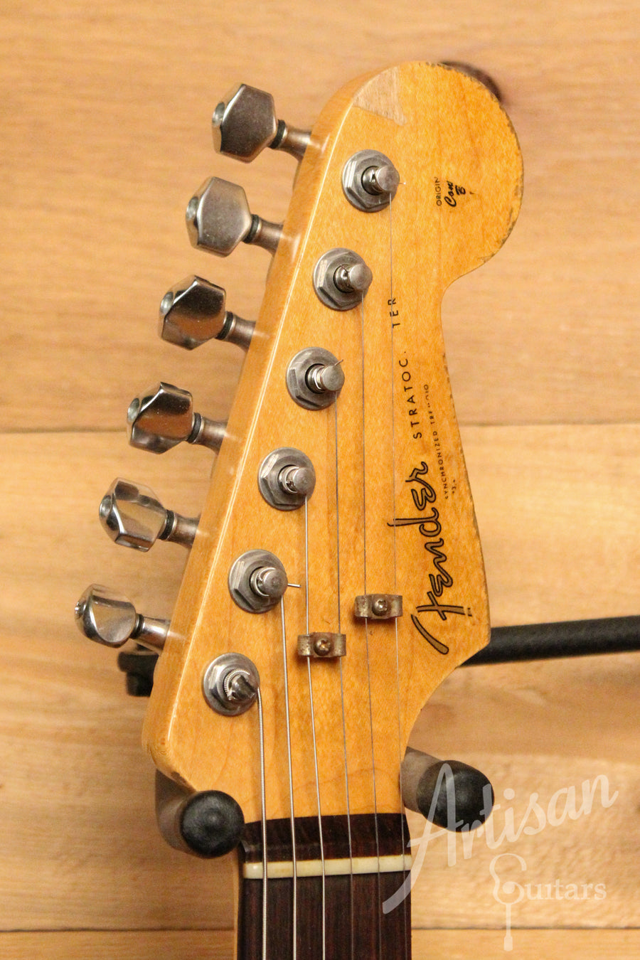 Fender Custom Shop Rory Gallagher Signature Stratocaster Heavy Relic 3 Color Sunburst Finish Pre-Owned 2007 ID-11689
