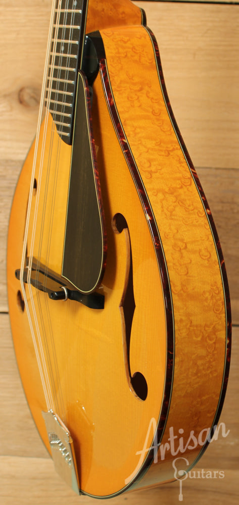 Collings MT2V A-Style Mandolin with Varnish Finish and Tangerine Burst ID-8859 - Artisan Guitars