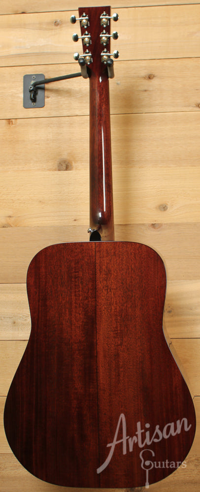 Pre Owned 2012 Huss and Dalton TD M Sinker Mahogany and Adirondack Spruce with Herringbone ID-6744