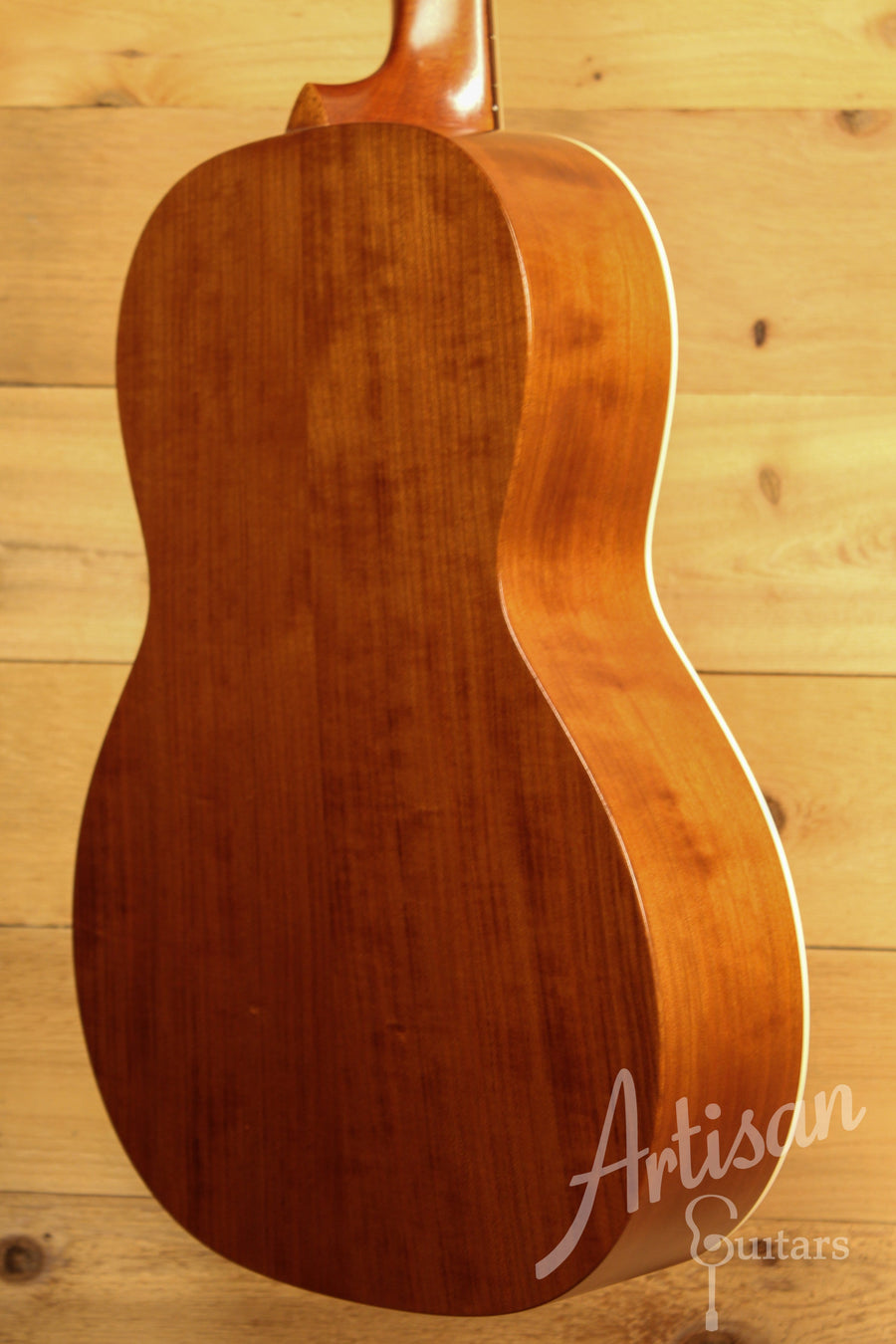 Waterloo WL-S Ladder Braced Guitar Solid Spruce and Cherry with Vintage Iced Tea Finish ID-11562 - Artisan Guitars