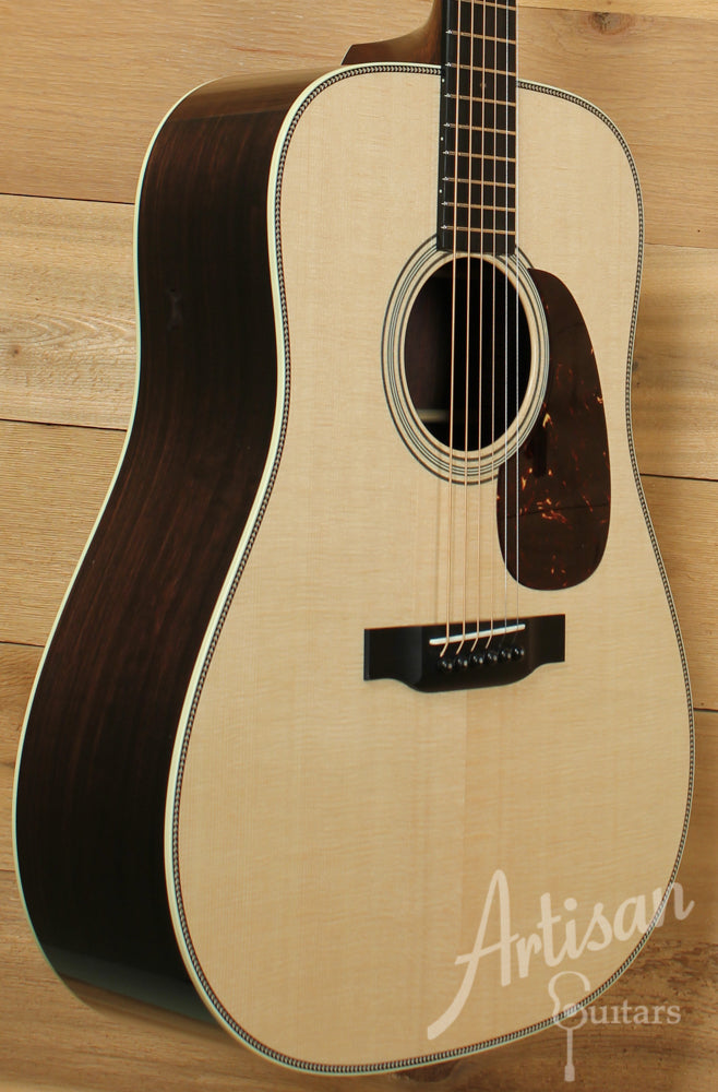 Collings D2H Herringbone Sitka Spruce and Indian Rosewood ID-9164 - Artisan Guitars