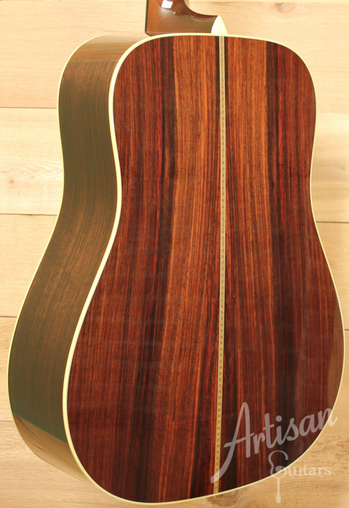 Collings D2HA Guitar VN Varnish Adirondack and Indian Rosewood with Vintage Now Neck and Varnish Pre-Owned 2015 ID-10795 - Artisan Guitars