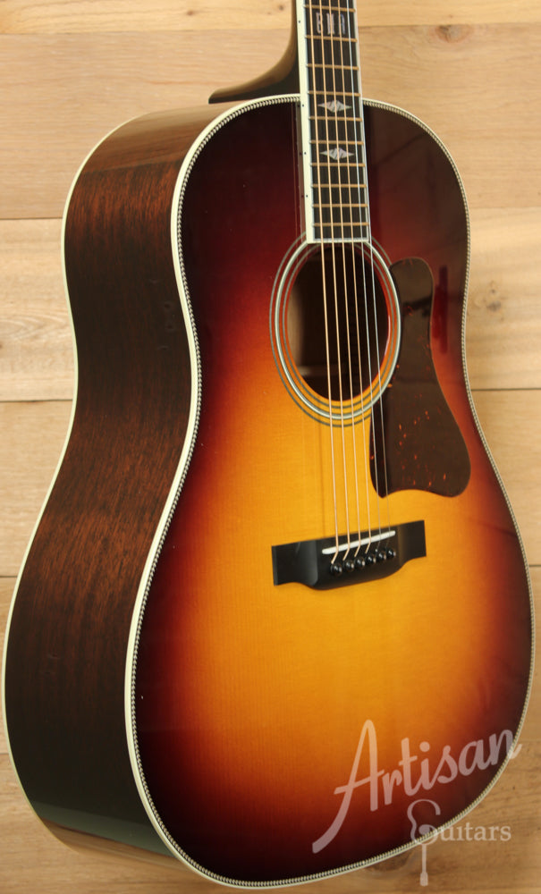 Collings CJ Mh Adirondack and Mahogany with Sunburst ID-9399 - Artisan Guitars