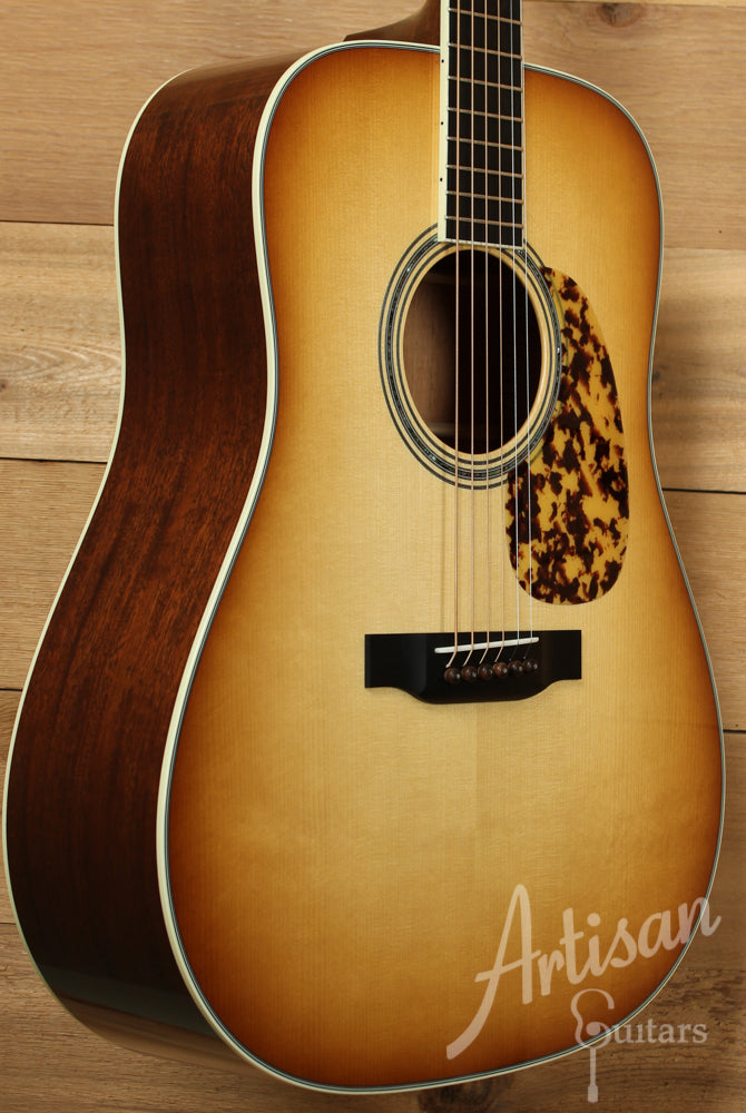 Collings D3A MhSB Custom Adirondack Spruce Mahogany Western Shaded Sunburst ID-8866
