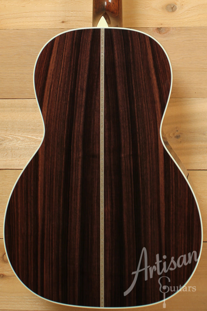 Collings 02H Guitar E 12 Fret Engelmann Spruce with Indian Rosewood and Herringbone  ID-8862 - Artisan Guitars