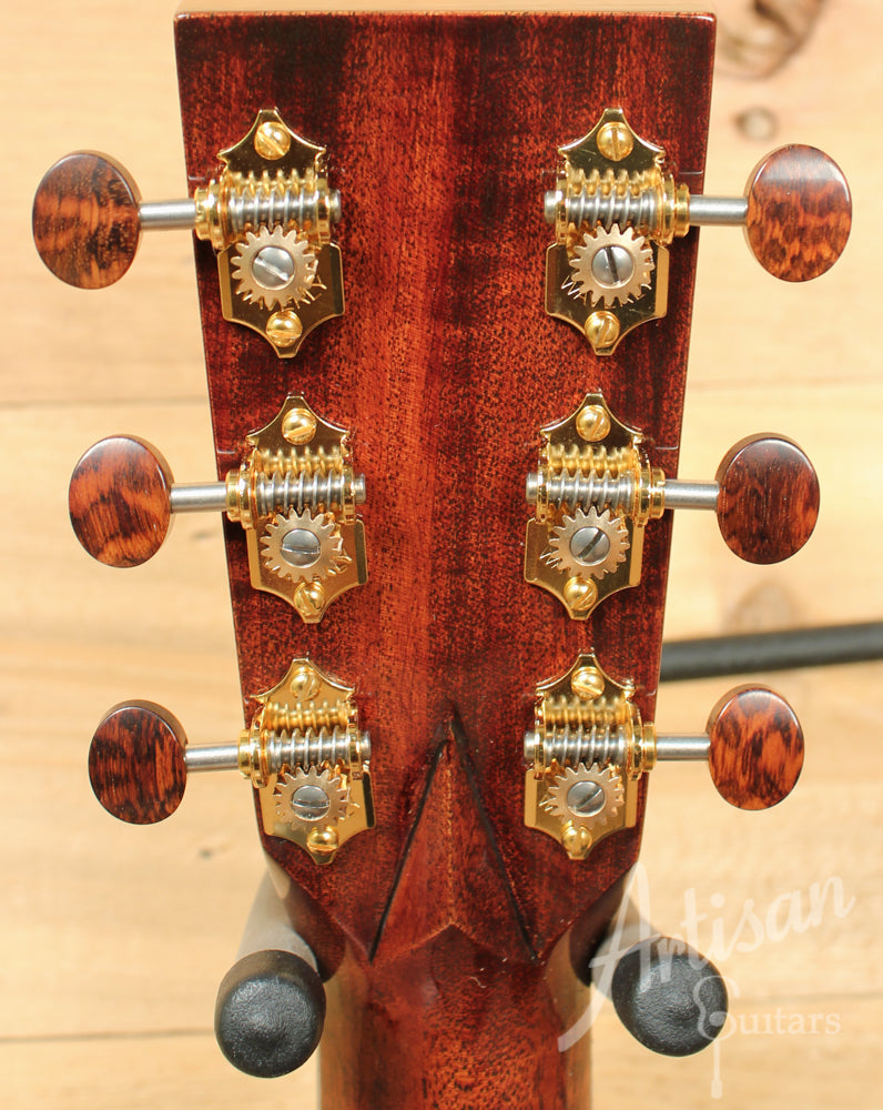 Huss and Dalton TD R Thermo-Cured Appalachian Red Spruce and Bubinga Pre-Owned 2015 ID-10790 - Artisan Guitars