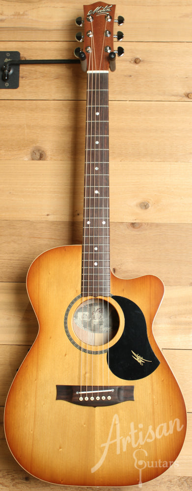 Maton EBG808CLG Performer Series Bunya and Queensland Maple with Cutaway and Vintage Amber Sunburst ID-9420 - Artisan Guitars