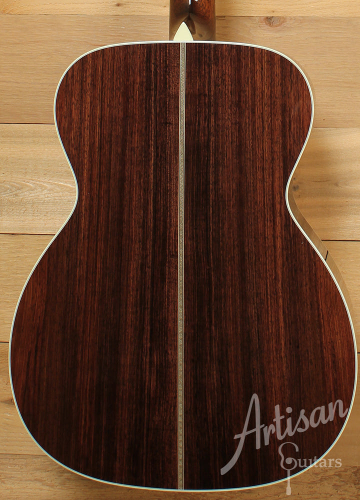 Collings OM2H E Engelmann Spruce and Indian Rosewood Short Scale  ID-8869 - Artisan Guitars