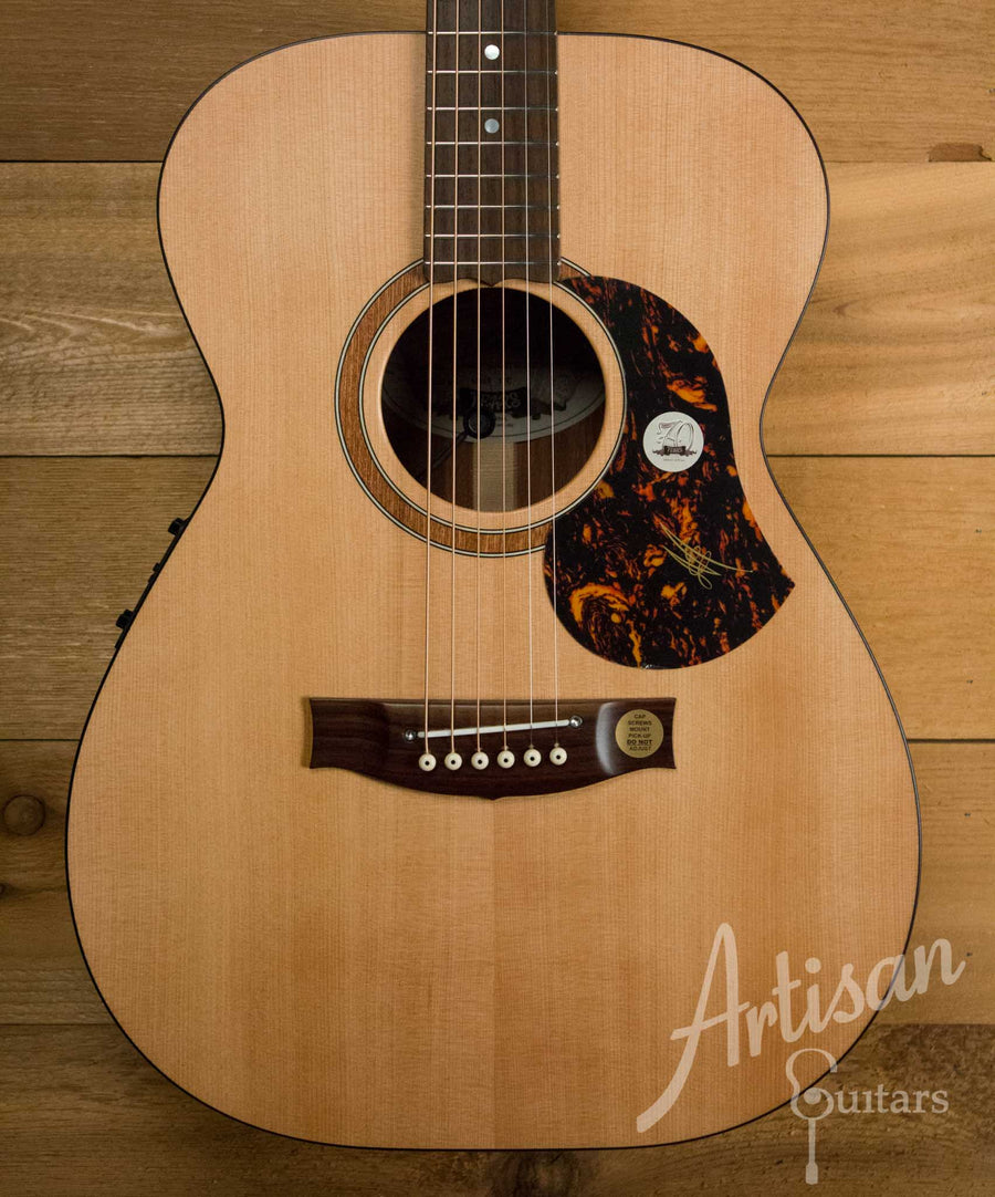 Maton SRS808 Guitar Western Red Cedar and Solid Blackwood  ID-10546 - Artisan Guitars