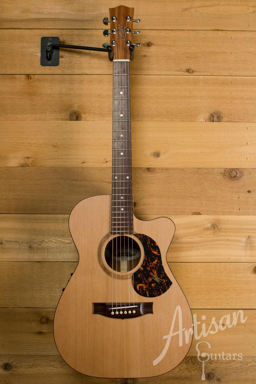 Maton SRS808C Guitar Western Red Cedar and Solid Blackwood Cutaway ID-10547 - Artisan Guitars