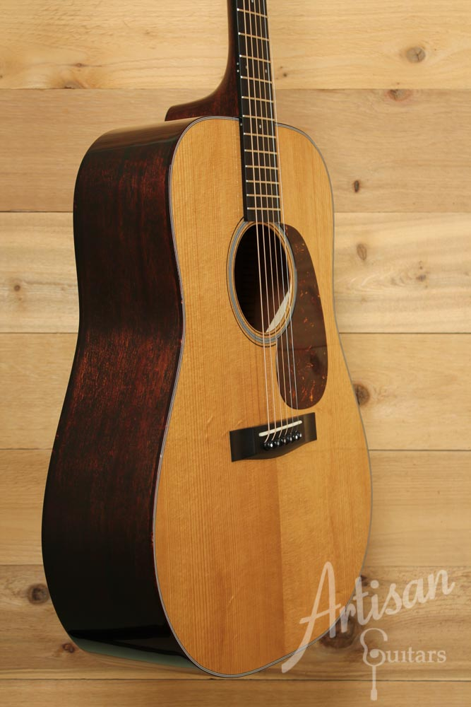 Huss and Dalton TD M Guitar Pre Owned 2014 with Thermo Cured Adirondack Spruce Top and Mahogany ID-9457