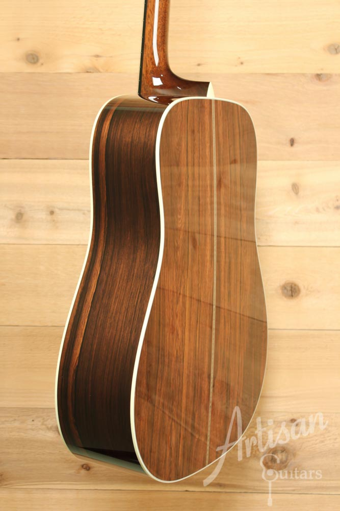 Collings D2HMRA with Torrefied Adirondack Spruce and Madagascar Rosewood  ID-9465 - Artisan Guitars