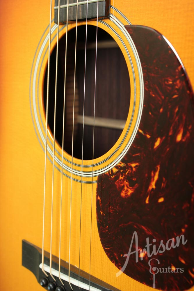 Collings D2HA Sb Dreadnought Adirondack and Indian Rosewood with Sunburst Top ID-8851 - Artisan Guitars