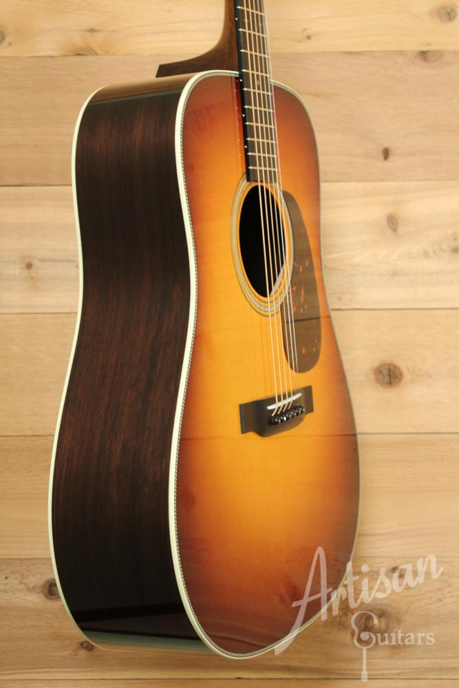 Collings D2HA Sb Dreadnought Adirondack and Indian Rosewood with Sunburst Top ID-8851