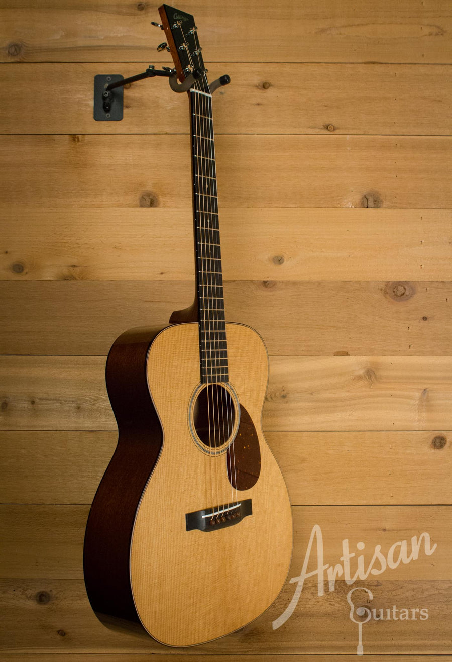 Collings OM1 T Guitar Baked Sitka Spruce and Mahogany ID-10581 - Artisan Guitars
