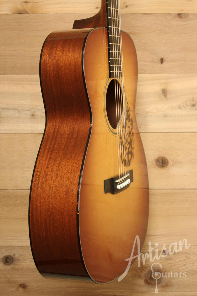 Pre-Owned 2012 Collings OM1ASB Adirondack Spruce and Mahogany ID-6200 - Artisan Guitars