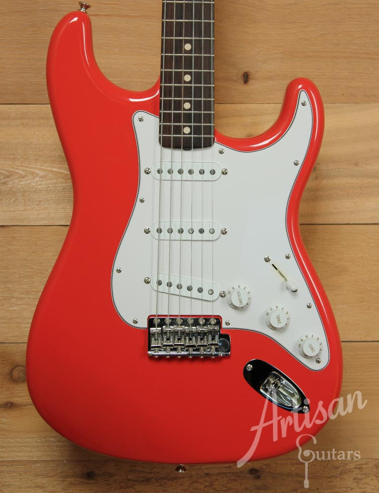 Pre-Owned Fender 1960's Stratocaster NOS Custom Fiesta Red Finish ID-9484