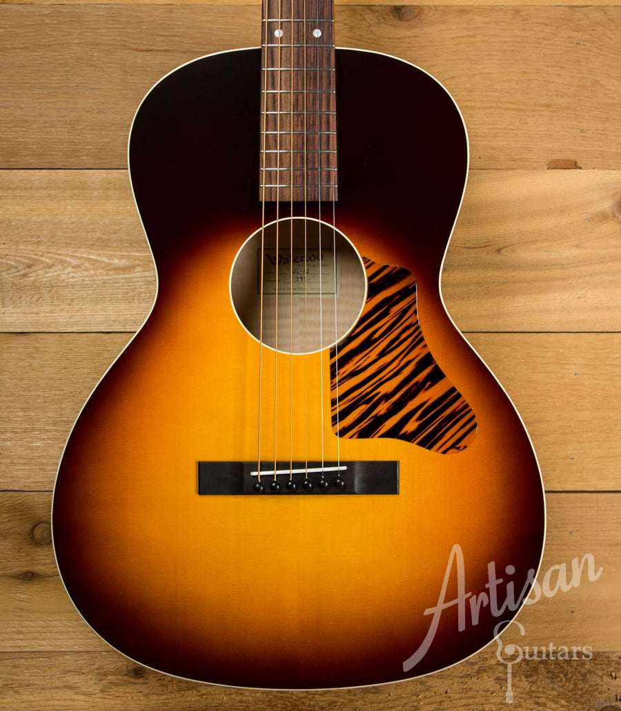 Waterloo WL-12X Maple Guitar with Truss Rod and Sunburst Finish  ID-10374