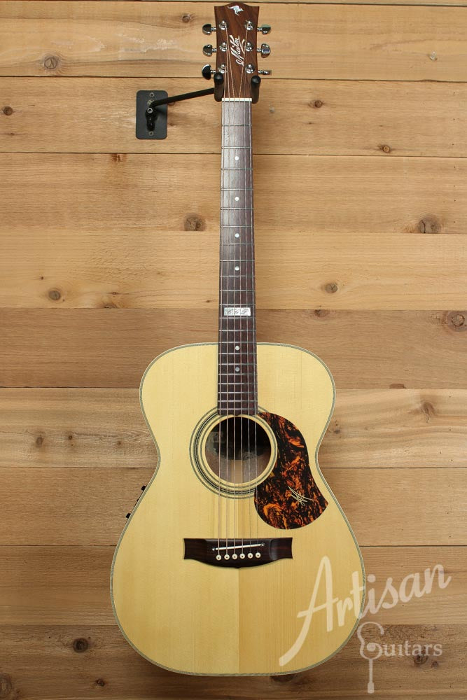 Maton EBG808TE Tommy Emmanuel Signature Sitka and Queensland Maple with AP5-Pro pickup ID-9495