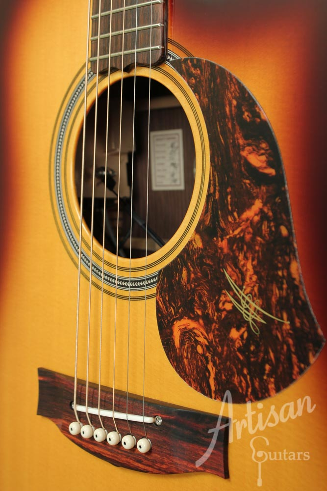 Maton TE1 Tommy Emmanuel Sitka Spruce and Indian Rosewood ID-9496 - Artisan Guitars