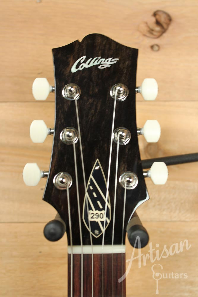 Collings 290 S Tabacco SunBurst Single Dogear P90 Lollar Pickup and Wraparound Bridge ID-9504 - Artisan Guitars