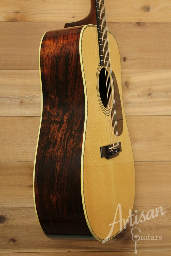Pre-Owned 2009 Collings D2HBaaaAV Adirondack Spruce and Brazilian Rosewood with Varnish Finish ID-9516 - Artisan Guitars