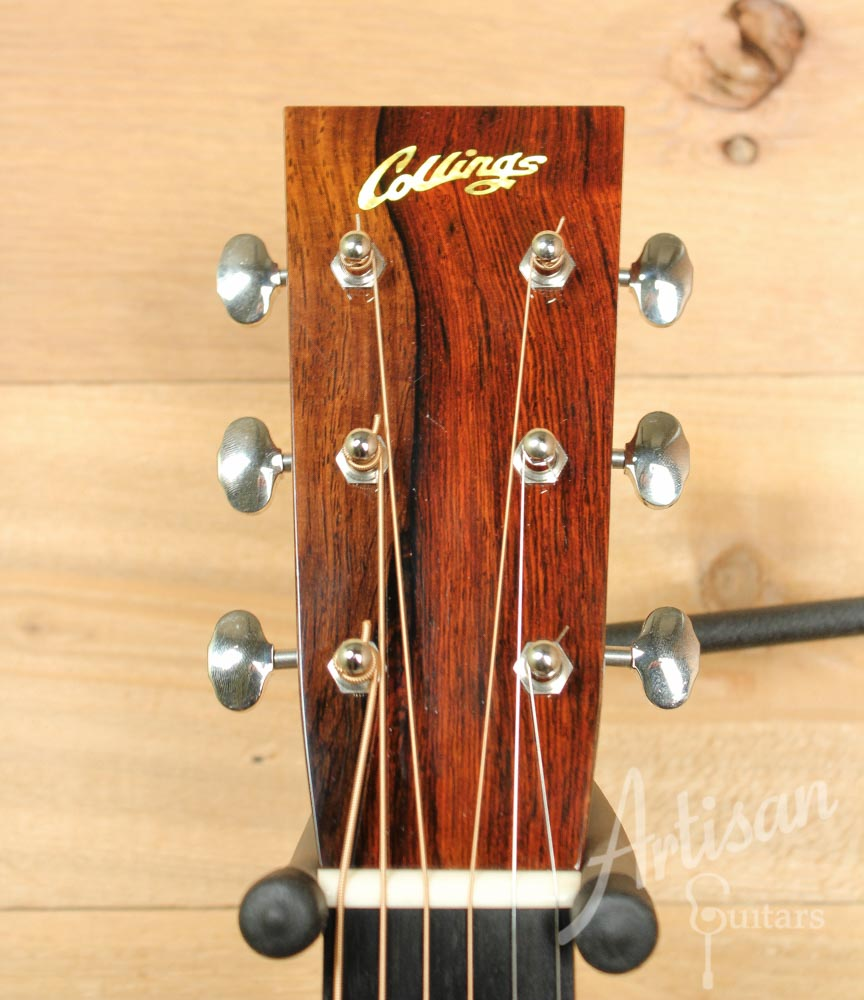 Pre-Owned 2009 Collings D2HBaaaAV Adirondack Spruce and Brazilian Rosewood with Varnish Finish ID-9516