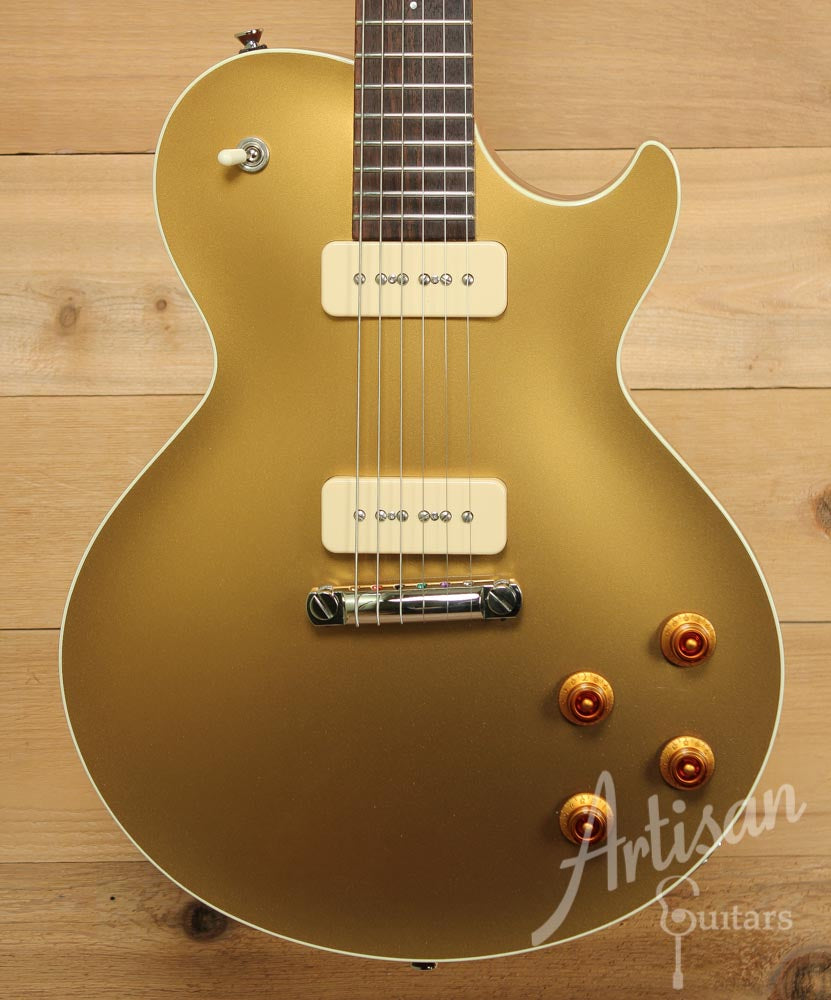 Pre-Owned 2012 Collings City Limits Goldtop with Wraparound Bridge ID-9518 - Artisan Guitars