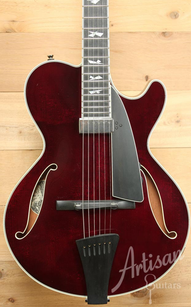Collings CL Jazz Archtop Merlot Finish  ID-9565