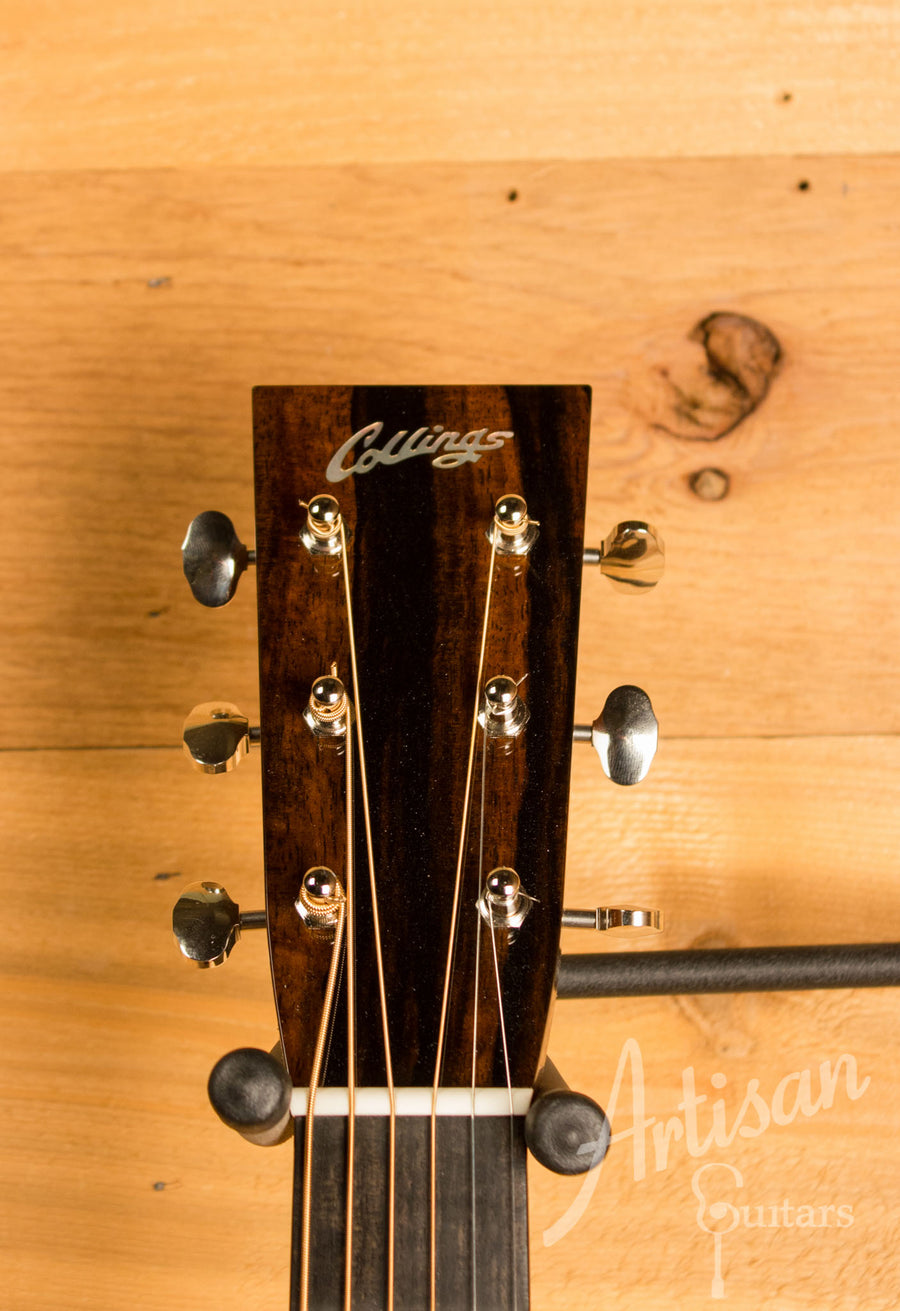 Collings D2H Herringbone Sitka Spruce and Indian Rosewood ID-10607 - Artisan Guitars