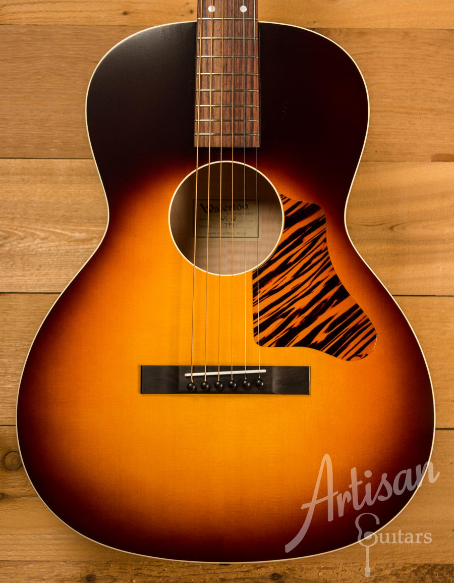 Waterloo WL-12X Maple Guitar with Truss Rod and Sunburst Finish ID-10362 - Artisan Guitars