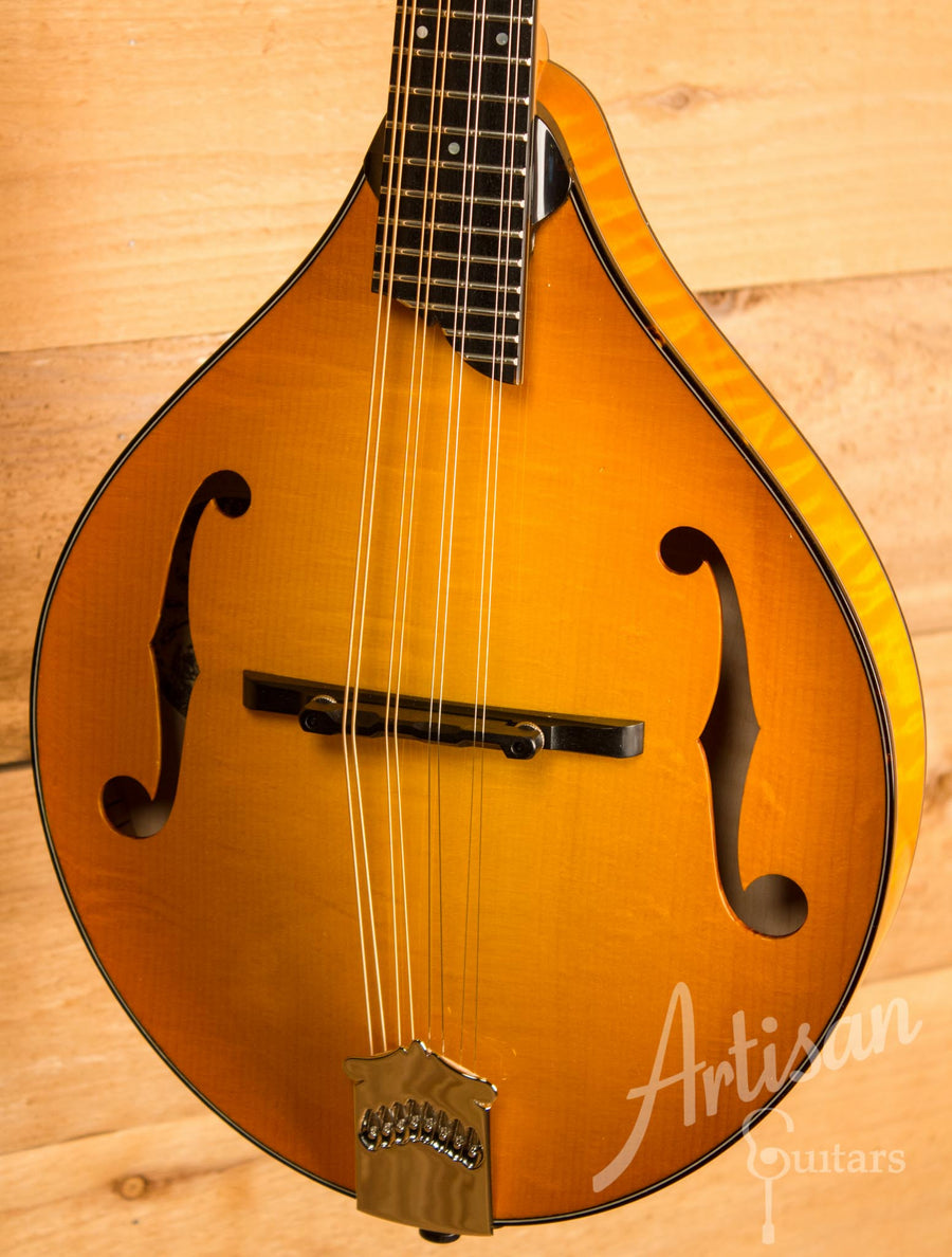 Collings MT2 Mandolin Tangerine Sunburst Finish  ID-10303 - Artisan Guitars