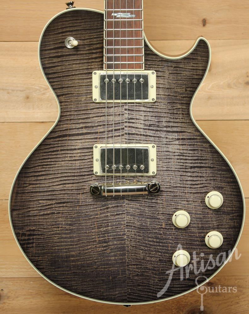 Collings City Limits Deluxe Flamed Maple Top with Acid Wash Finish ID-9587 - Artisan Guitars