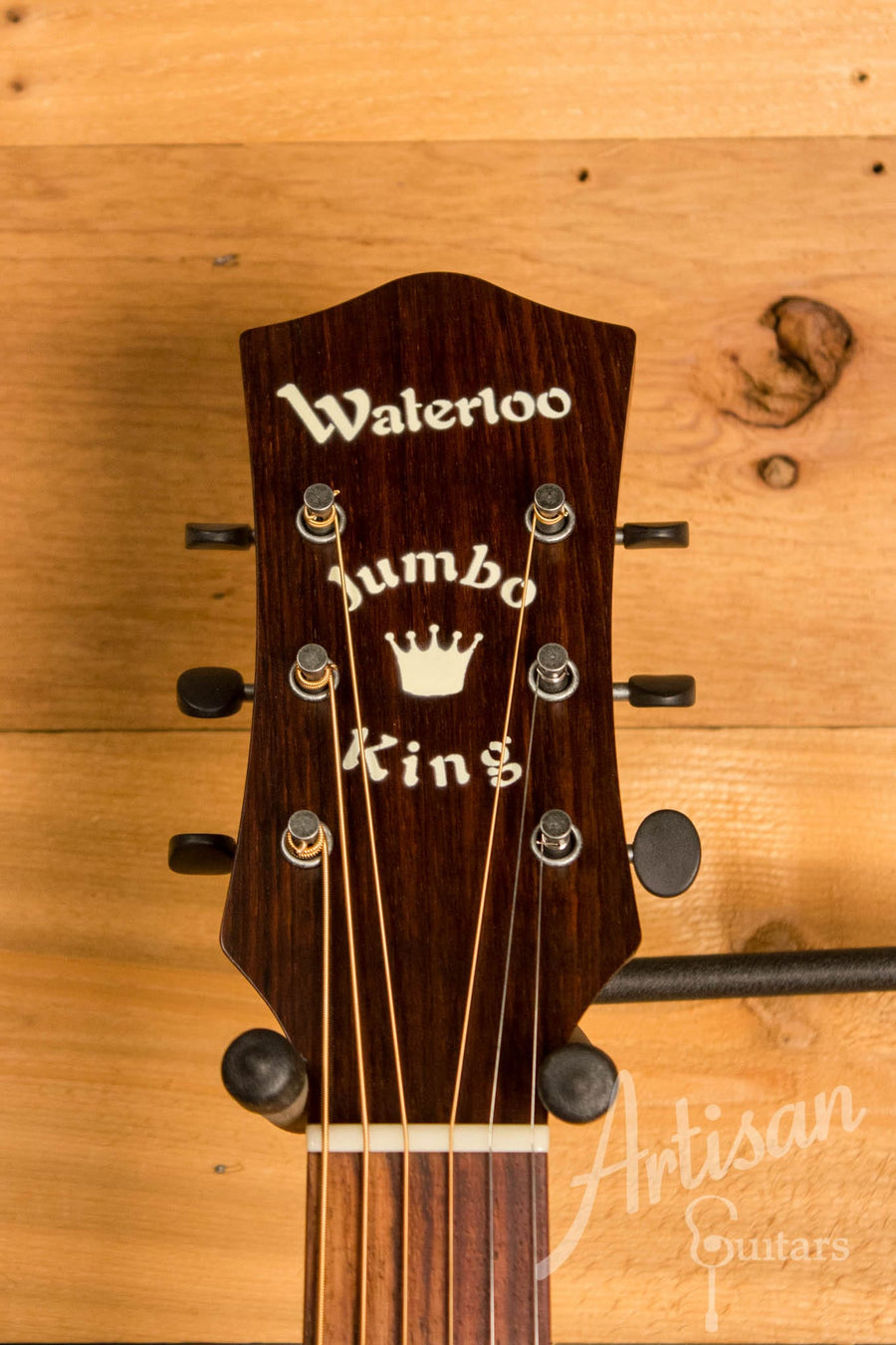 Waterloo WL-JK  X Braced Guitar Sunburst with Truss Rod  ID-10357 - Artisan Guitars