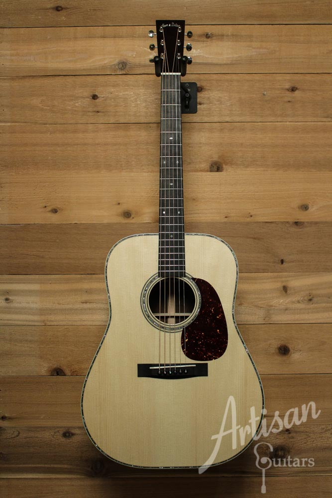 Pre-Owned 2014 Huss and Dalton TD R Custom Adirondack Spruce and Brazilian Rosewood with Hot Hide Glue ID-9687 - Artisan Guitars
