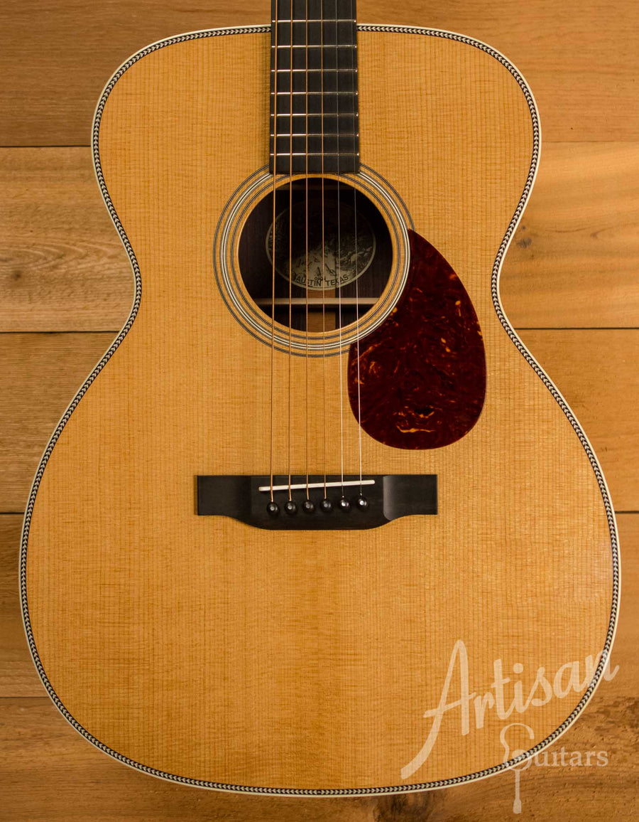 Collings OM2H Guitar Baked Sitka Spruce and Indian Rosewood  ID-10476 - Artisan Guitars