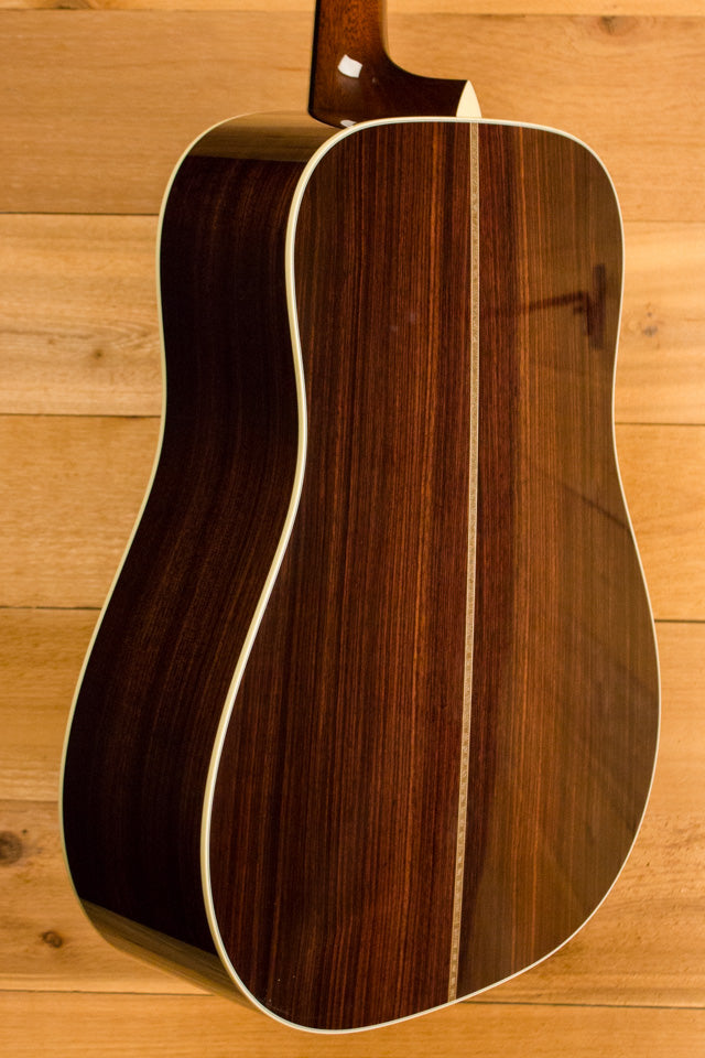 Collings D2H Sitka Spruce Adirondack Braces and Indian Rosewood Pre-Owned 2015 ID-10708 - Artisan Guitars