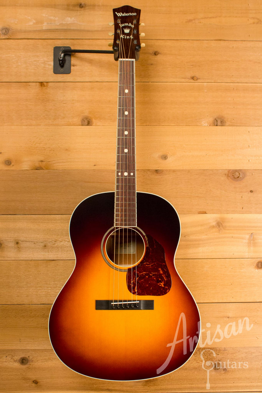 Waterloo WL-JK Dlx X Braced Guitar with Truss Rod ID-10359