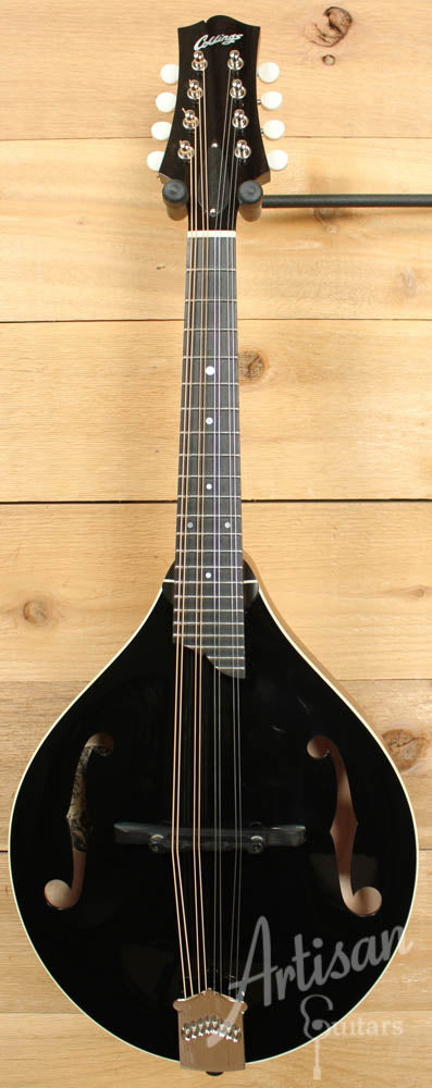 Collings MT Mandolin Engelmann Spruce and Maple A Style with Custom Black Gloss Top ID-8762 - Artisan Guitars