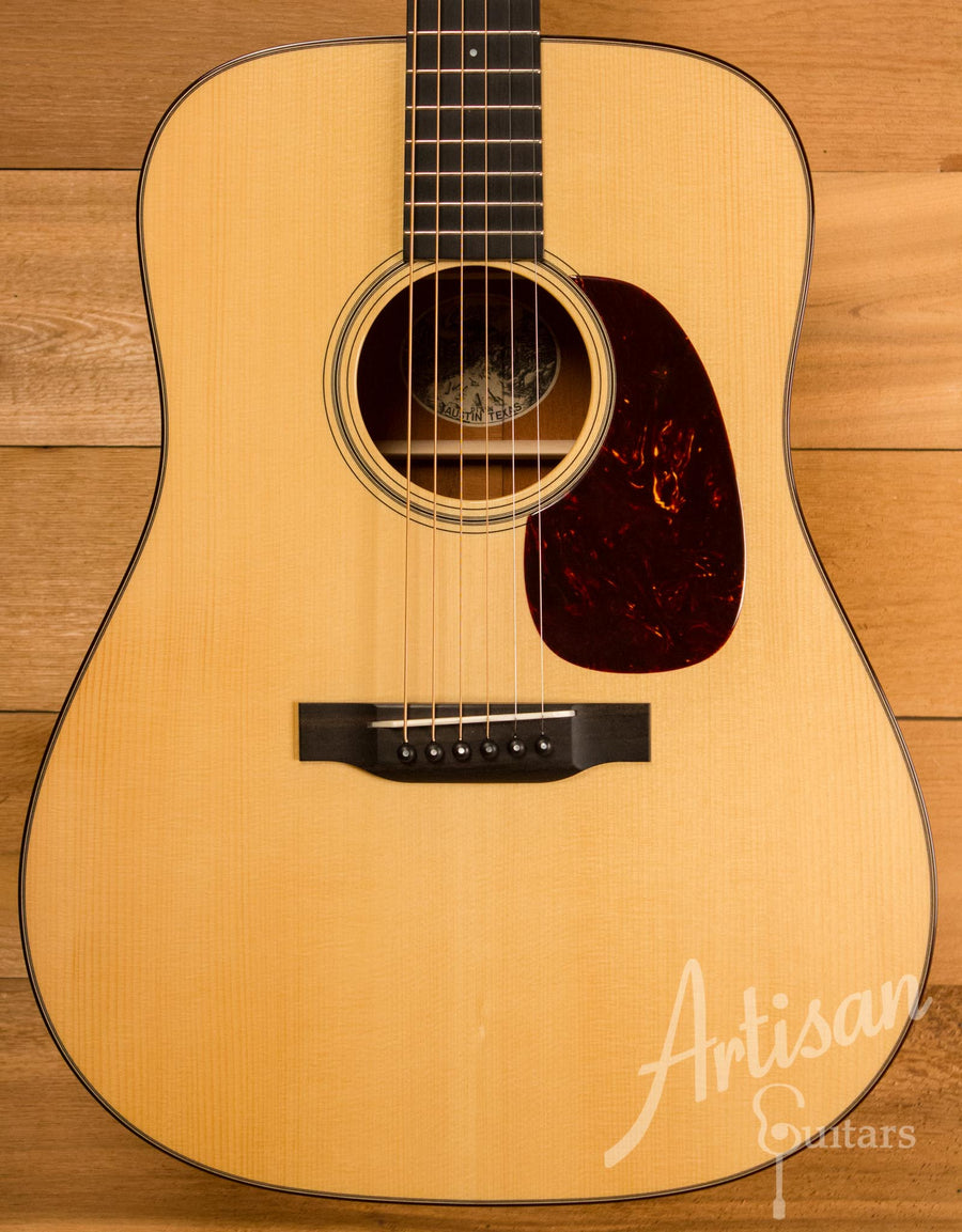 Collings D1A Adirondack and Mahogany with No Tongue Brace Pre-Owned 2014 ID-10728