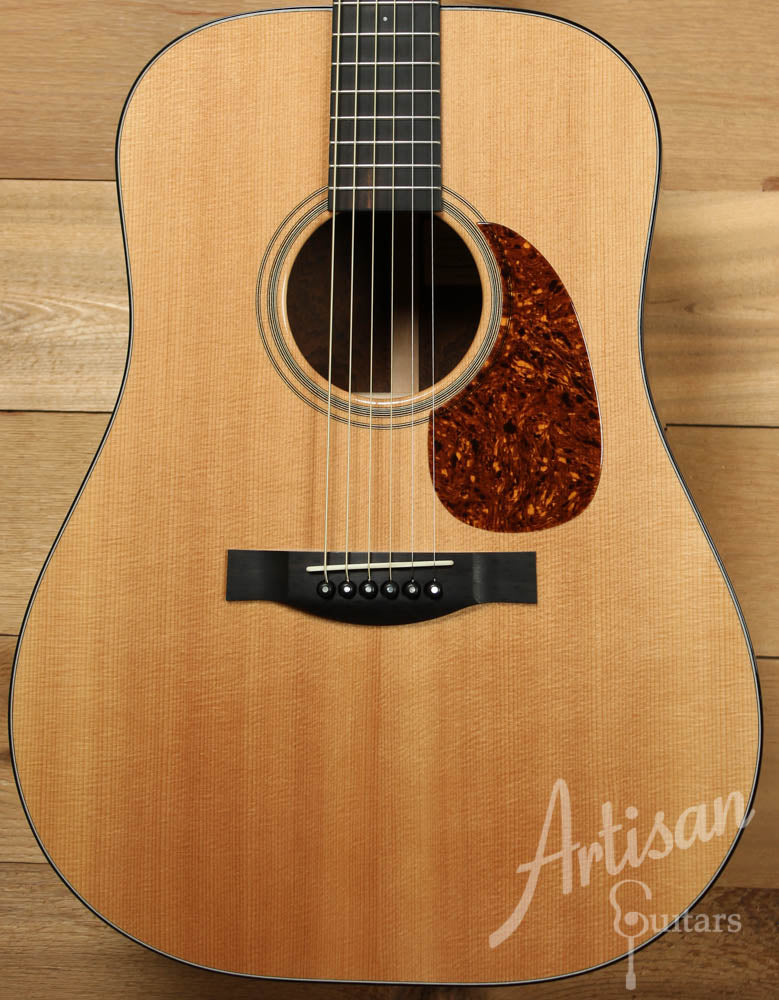 2004 Santa Cruz D PW with Sitka Spruce and Brazilian Rosewood ID-9089 - Artisan Guitars