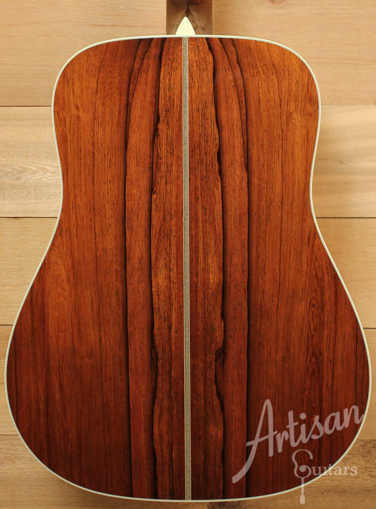 Pre Owned 2010 Collings D2HAMR with Adirondack and Madagascar Rosewood ID-5319 - Artisan Guitars