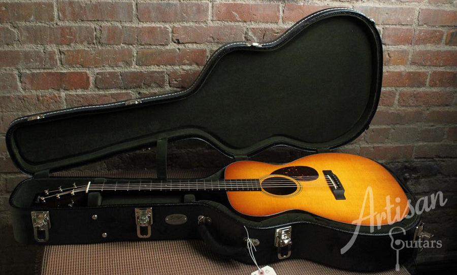 Pre-Owned 2013 Collings OM1 Sitka Spruce and Mahogany with Sunburst Finish ID-7583 - Artisan Guitars