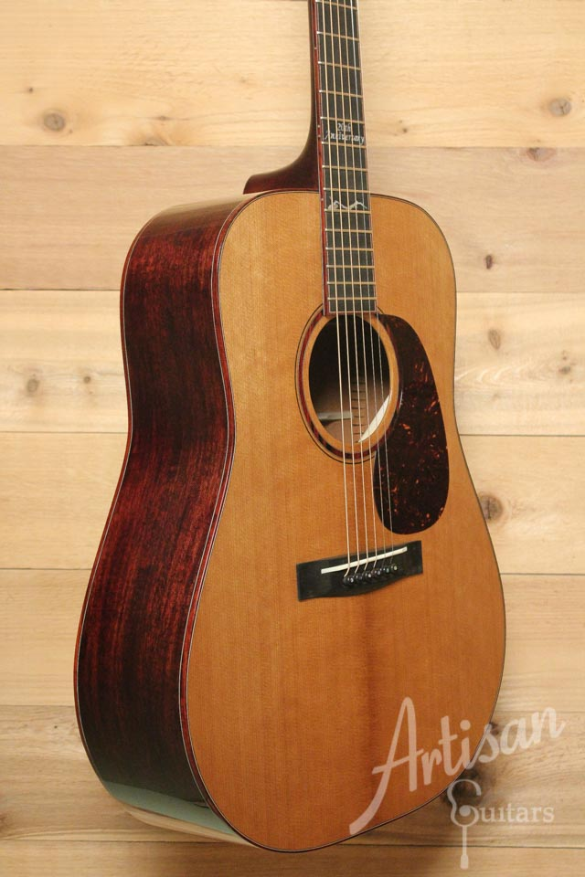 Huss and Dalton TD M Custom 20th Anniversary Thermo-Cured Appalachian Red Spruce and Sinker Mahogany ID-9512