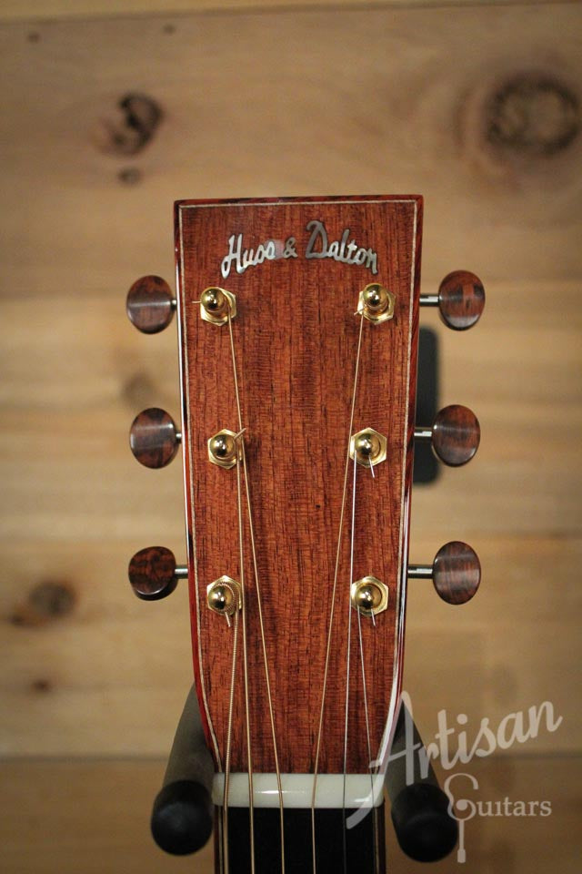 Huss and Dalton TOM Custom Themo-cured Red Spruce and Bubinga 20th Anniversary ID-9513 - Artisan Guitars