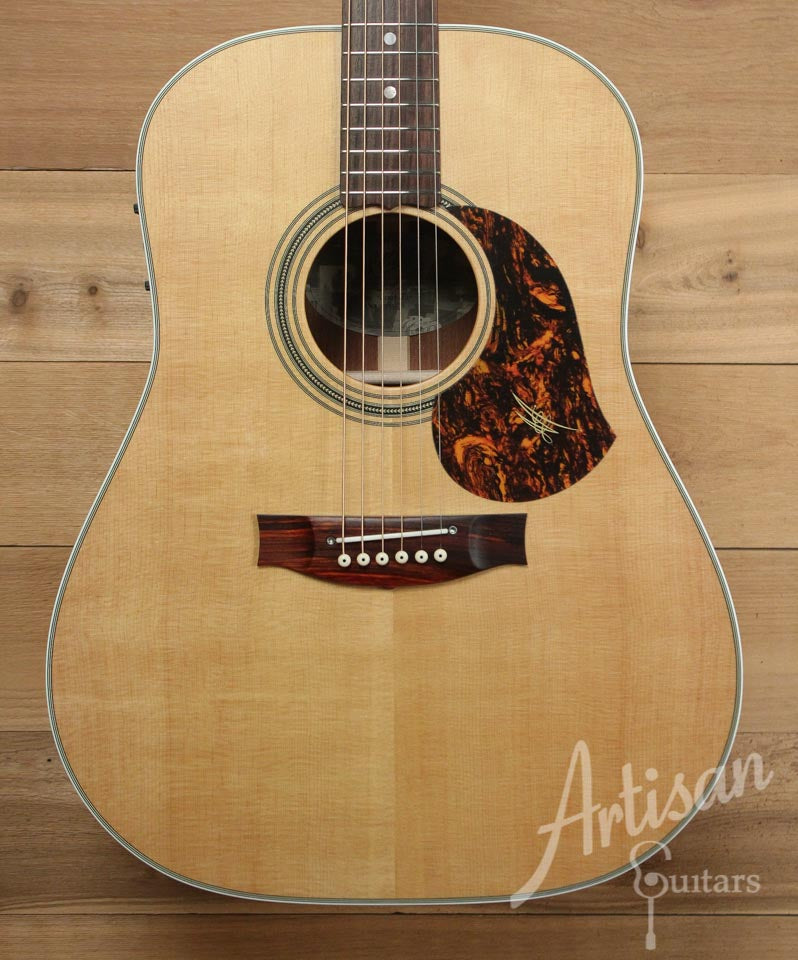 Maton Heritage ECW 80 Sitka Spruce and Queensland Maple ID-9813 - Artisan Guitars