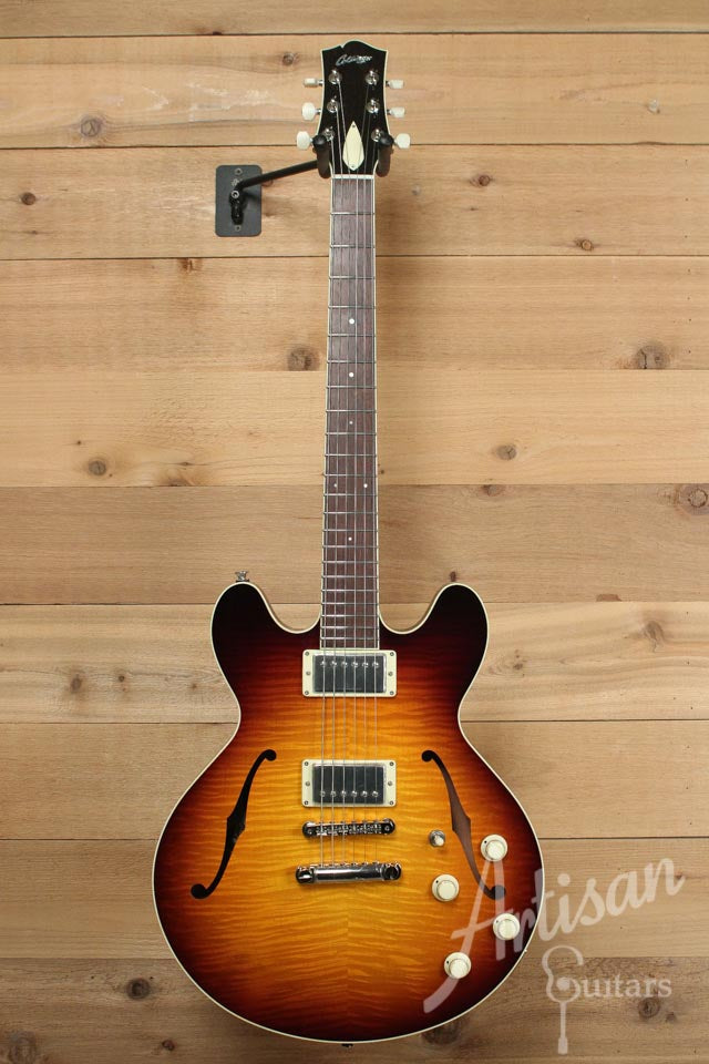 Collings I 35 Deluxe Guitar Tobacco Sunburst and Lollar Humbuckers ID-9814