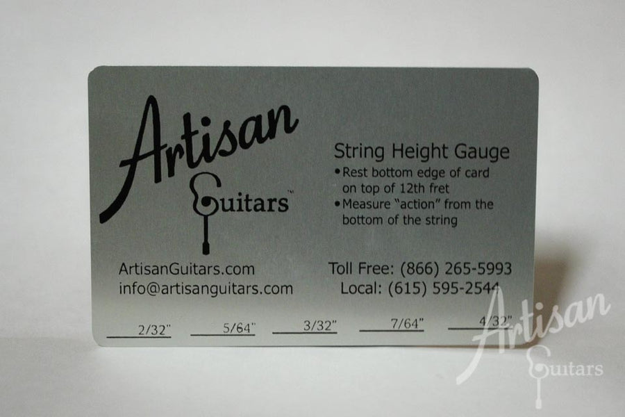 Artisan Guitars String Height Gauge ID-9852