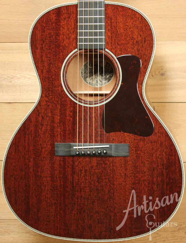 Collings C10 Mahogany with Herringbone and No Tongue Brace ID-8820